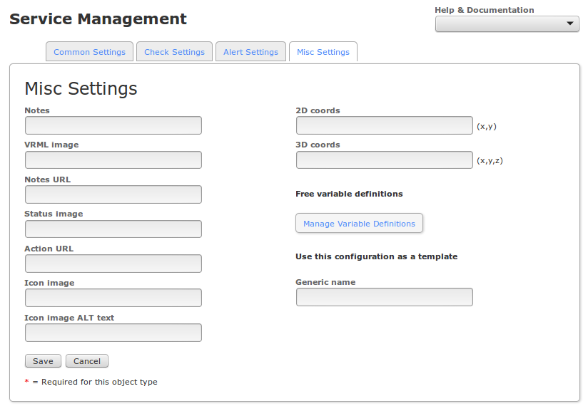 Nagios xi using the core config manager for service management once youve finished entering information for your new service click the save button to return to the service management page maxwellsz